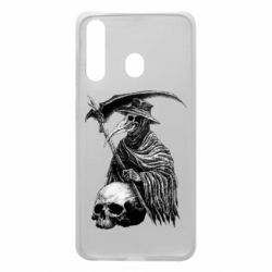 Чехол для Samsung A60 Plague Doctor graphic arts