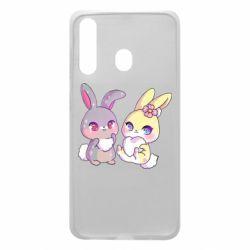 Чохол для Samsung A60 Rabbits In Love