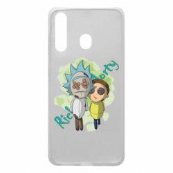 Чохол для Samsung A60 Rick and Morty voodoo doll