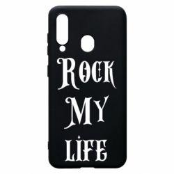 Чехол для Samsung A60 Rock my life