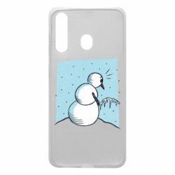 Чохол для Samsung A60 Snowman. It's Cold!