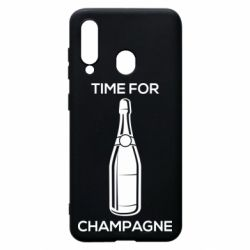 Чохол для Samsung A60 Time for champagne