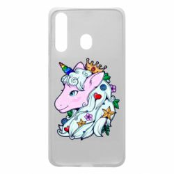 Чохол для Samsung A60 Unicorn Princess