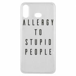 Чохол для Samsung A6s Allergy To Stupid People