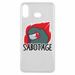 Чохол для Samsung A6s Among Us Sabotage