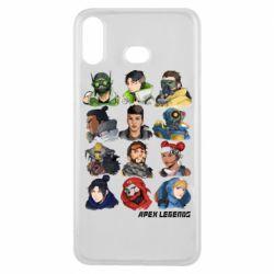 Чохол для Samsung A6s Apex legends heroes
