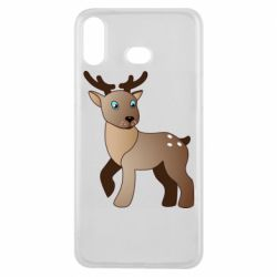 Чехол для Samsung A6s Cartoon deer