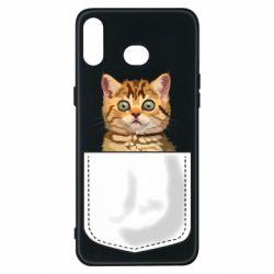 Чехол для Samsung A6s Cat in your pocket