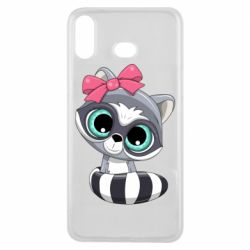 Чехол для Samsung A6s Cute raccoon