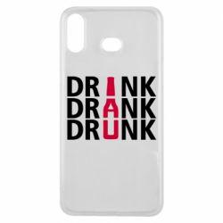 Чехол для Samsung A6s Drink Drank Drunk