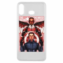 Чохол для Samsung A6s Falcon and the Winter Soldier Art