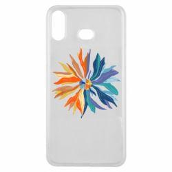 Чохол для Samsung A6s Flower coat of arms of Ukraine