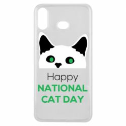 Чехол для Samsung A6s Happy National Cat Day