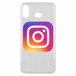 Чохол для Samsung A6s Instagram Logo Gradient