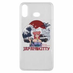 Чохол для Samsung A6s Japan Kitty