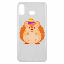Чохол для Samsung A6s Little hedgehog in a hat