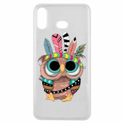 Чохол для Samsung A6s Little owl with feathers