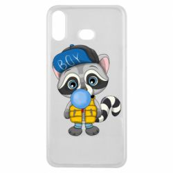 Чехол для Samsung A6s Little raccoon
