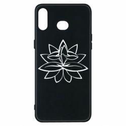 Чохол для Samsung A6s Lotus yoga