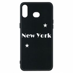 Чехол для Samsung A6s New York and stars