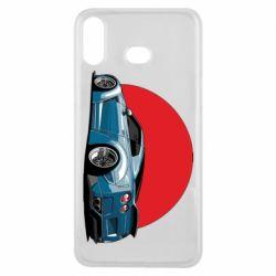 Чехол для Samsung A6s Nissan GR-R Japan