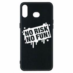 Чохол для Samsung A6s No Risk No Fun