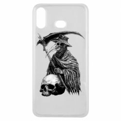 Чехол для Samsung A6s Plague Doctor graphic arts