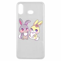 Чохол для Samsung A6s Rabbits In Love