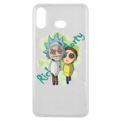 Чохол для Samsung A6s Rick and Morty voodoo doll