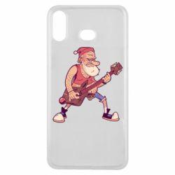 Чохол для Samsung A6s Rock'n'roll Santa