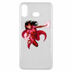Чохол для Samsung A6s Scarlet Witch comic art