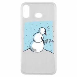 Чохол для Samsung A6s Snowman. It's Cold!