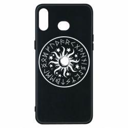 Чохол для Samsung A6s Sun in runes
