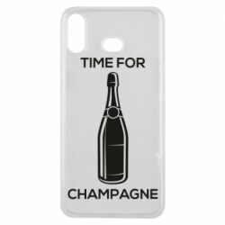 Чохол для Samsung A6s Time for champagne
