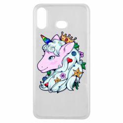 Чохол для Samsung A6s Unicorn Princess