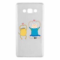 Чохол для Samsung A7 2015 Adventure time