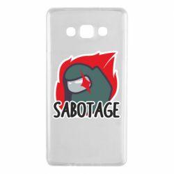 Чохол для Samsung A7 2015 Among Us Sabotage