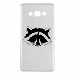 Чохол для Samsung A7 2015 Cute raccoon face