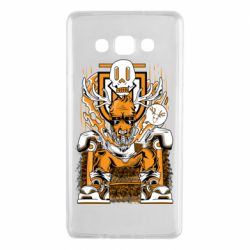 Чехол для Samsung A7 2015 Deer On The Throne