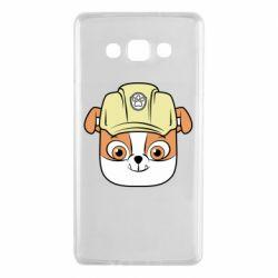 Чохол для Samsung A7 2015 Dog in helmet