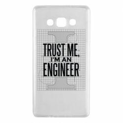 Чохол для Samsung A7 2015 Довірся мені я інженер