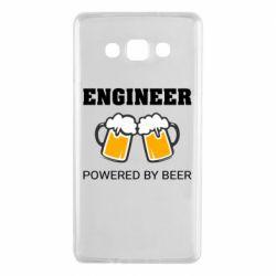 Чохол для Samsung A7 2015 Engineer Powered By Beer