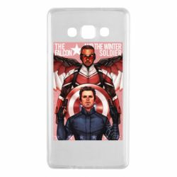 Чохол для Samsung A7 2015 Falcon and the Winter Soldier Art
