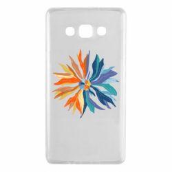 Чохол для Samsung A7 2015 Flower coat of arms of Ukraine