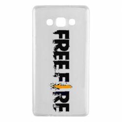 Чехол для Samsung A7 2015 Free Fire spray