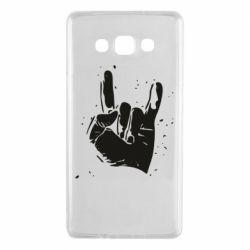 Чехол для Samsung A7 2015 HEAVY METAL ROCK