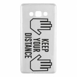 Чохол для Samsung A7 2015 Keep your distance