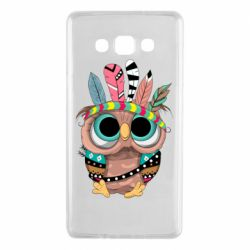 Чохол для Samsung A7 2015 Little owl with feathers