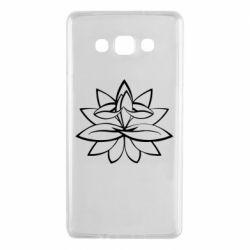 Чохол для Samsung A7 2015 Lotus yoga