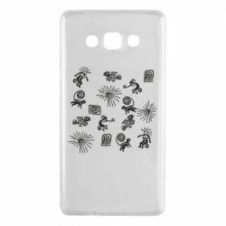 Чохол для Samsung A7 2015 Наскальний Живопис